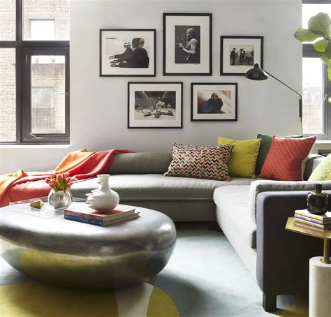 livingroom soho a soho loft redesign featured in elle decor d 233 cor aid