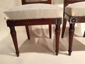 paire de chaises en acajou par jacob fr 232 res 233 poque