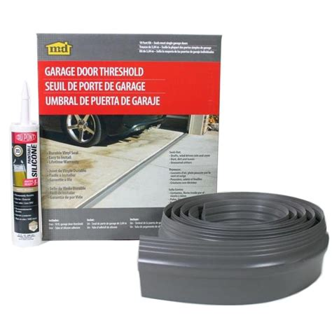 Home Depot Garage Door Seal Proseal 10 Ft Nail On Garage Door Bottom Seal 57010 The Home Depot