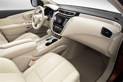 nissan murano interior 2015 nissan murano first look motor trend