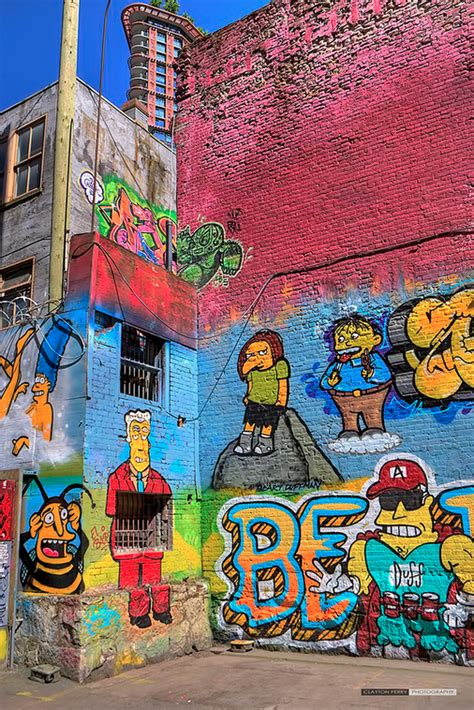 simpsons murals   downtown eastside daily hive