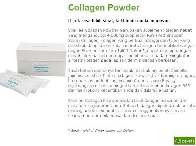 Collagen Terbaru healthy by nature produk terbaru shaklee collagen dan