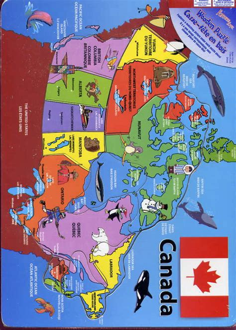 canadian map puzzle forever toys