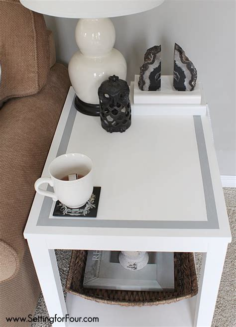diy chalk paint scratches diy chalk paint table makeover diy home decor setting