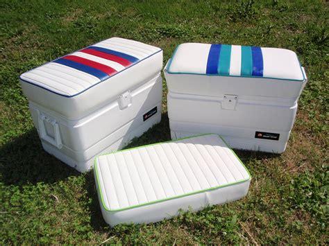 marine cooler seat cushions bb upholstery llc photo gallery marine cushions canvas