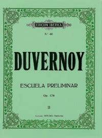 escuela preliminar op 101 m 233 todos y ejercicios 183 escuela preliminar op 176 piano 183 duvernoy jean baptiste boileau
