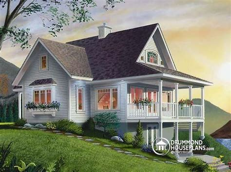 walkout house plans house plan w2939b detail from drummondhouseplans