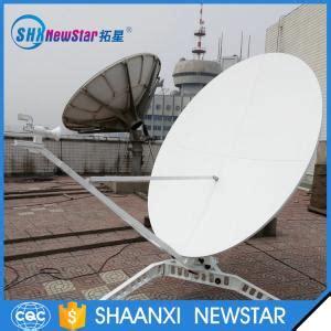 Braket Ku Band Fiber Tebal satellite dish 5 lnb satellite dish 5 lnb for sale