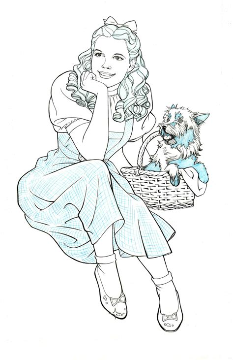 dorothy and toto by jerome k moore on deviantart