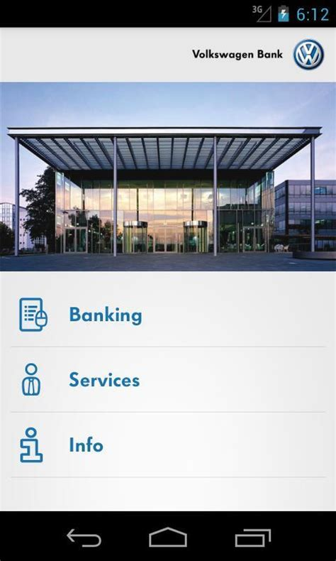 vw bank app vw banking android app chip