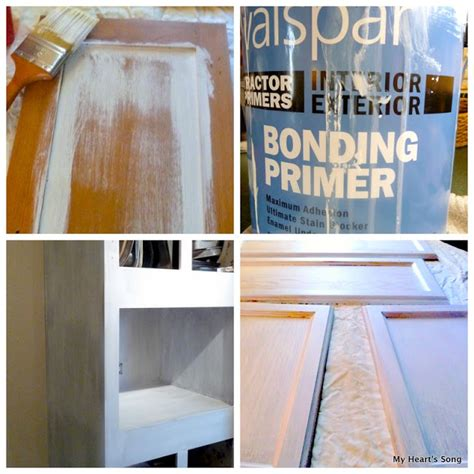 bonding primer for painting cabinets my heart s kitchen cabinets makeover begins