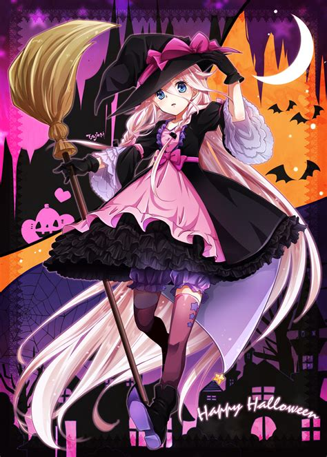 imagenes halloween chica anime ia vocaloid mobile wallpaper 1936737 zerochan anime