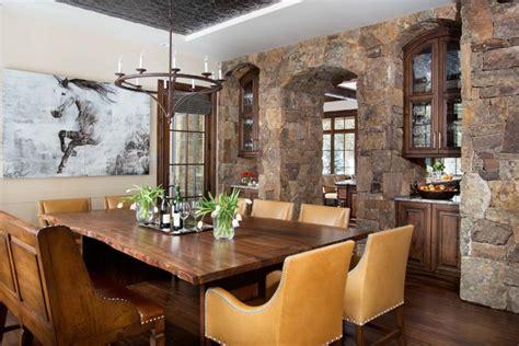 vail home rustic dining room denver by slifer designs