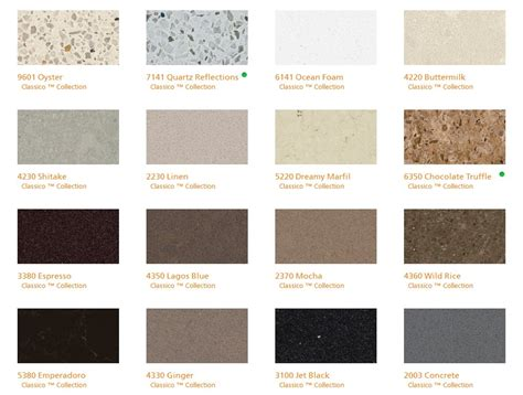 pics for gt caesarstone quartz countertops colors