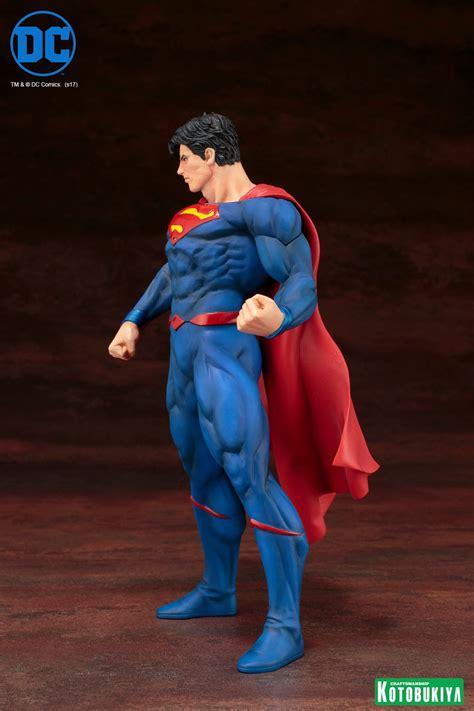 Kotobukiya Artfx Statue Superman dc comics rebirth superman statue by kotobukiya the toyark news