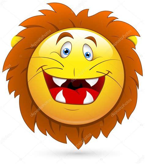 emoticon smiley face stock vector illustration of head smiley vector illustration lion head stock vector