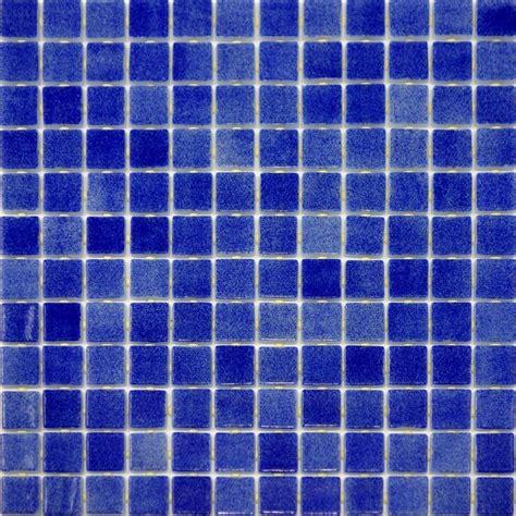10 sf blue glass mosaic tile kitchen backsplash