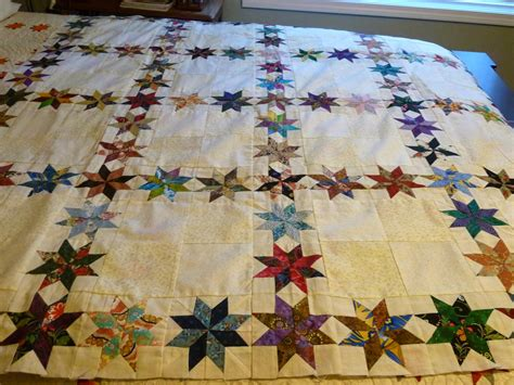 quilt and on