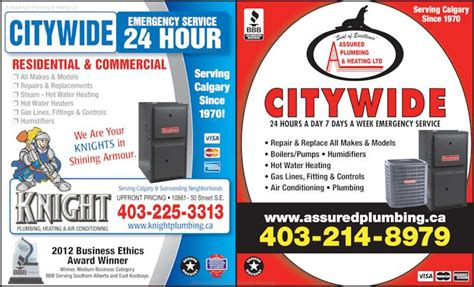 Ads Plumbing And Heating by Plumbing Heating And Air Conditioning Calgary