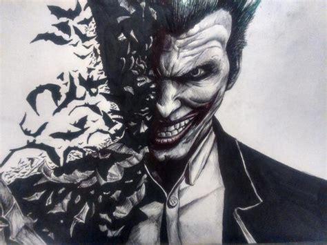 imagenes del joker de arkham sandra malvar on twitter quot dibujo acabado del joker de