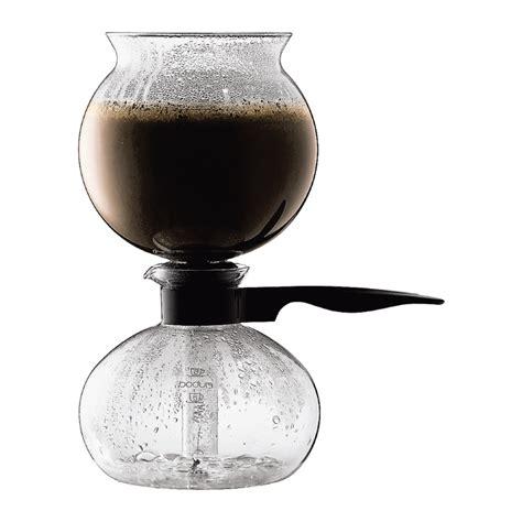 Unique Coffee Mugs by Pebo Vacuum Coffee Maker 8 Cup 1 0 L 34 Oz Black
