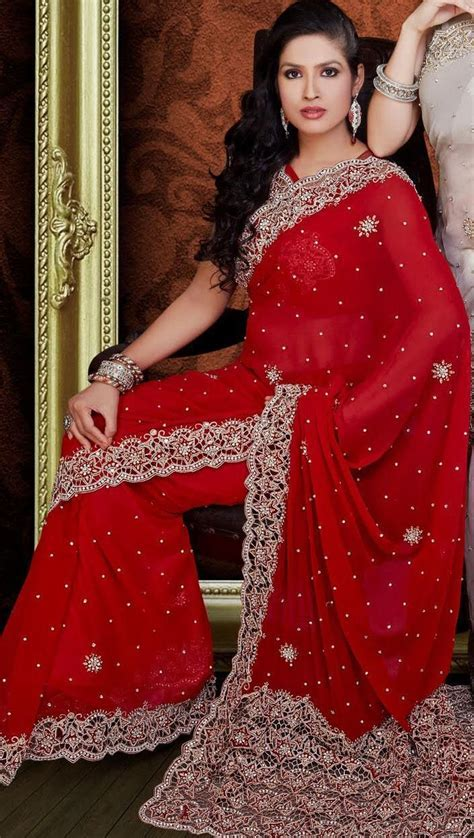 140 best images about Bridal sarees collection on