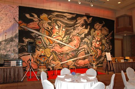 japanese themed events japanese theme party event services inc for mice events