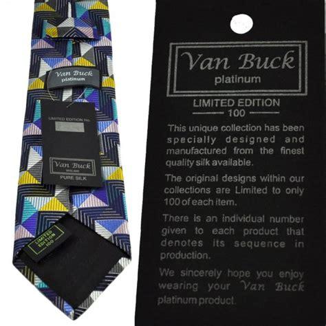 Limited Editions 7753 Silk Zigzag buck platinum navy blue zig zag striped silk designer