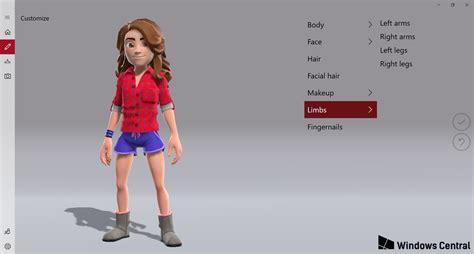 microsoft s new xbox avatar editor has been revealed