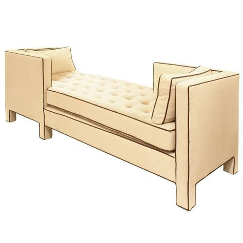 dunbar tete a tete sofa attributed to designer edward