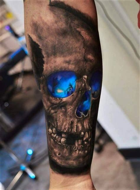 tattoo eye skull 4 latest scary skull tattoos ideas