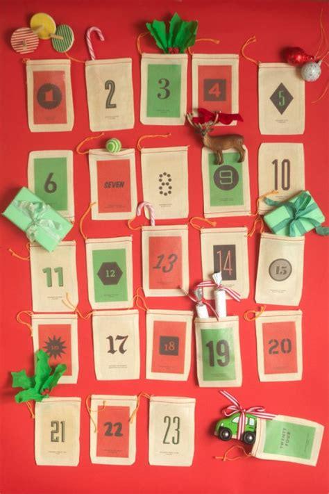 diy printable advent calendar 50 cool diy advent calendars shelterness