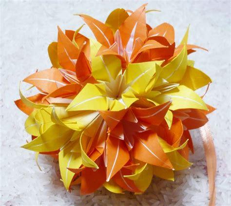 Origami Flower Kusudama - lets make origami kusudama
