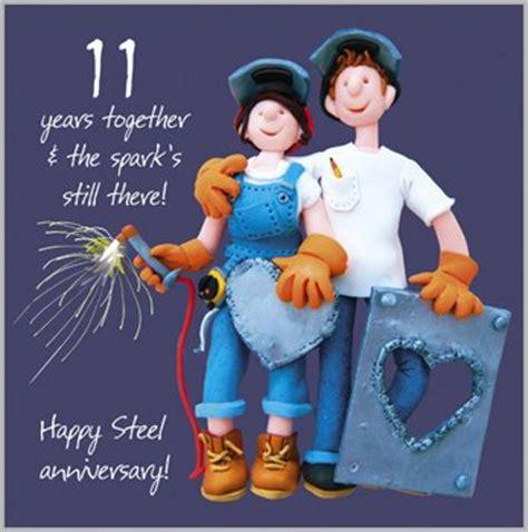 11th Wedding Anniversary Ideas Uk by 11th Wedding Anniversary Card