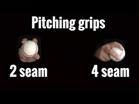 baseball pitching how to throw a two seam how to throw a 2 seam and a 4 seam fastball