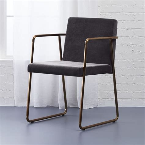 Cb2 Dining Chairs Rouka Grey Dining Chair In Accent Chairs Reviews Cb2