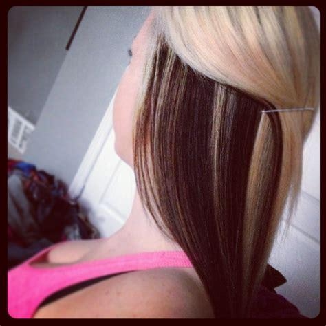 hairstyles blonde on top black underneath 23 best mich hair images on pinterest hair colors hair