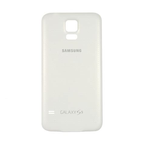 Samsung Galaxy S5 White samsung galaxy s5 back battery cover replacement white hawk mobile