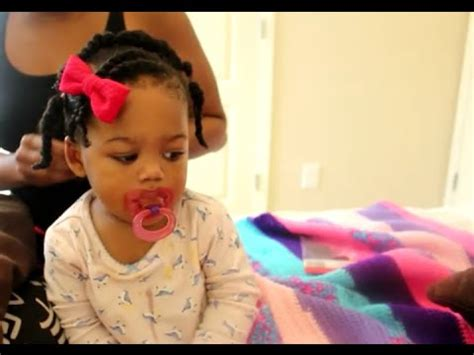 Baby Girl Hairstyles Youtube | easy hairstyle for baby toddler using rubberbands youtube