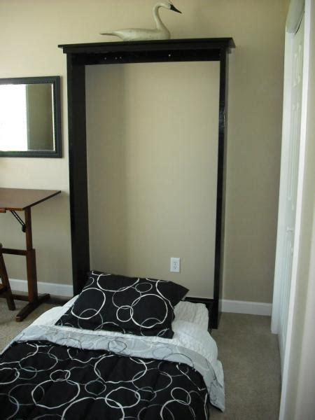 Murphy Bed Plans Easy White Plans A Murphy Bed You Can Build And Afford