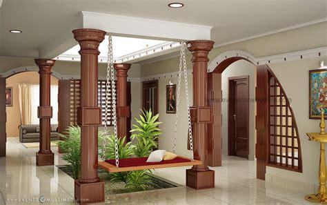 courtyard  kerala house indian home design kerala
