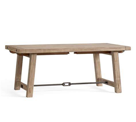 Benchwright Dining Table Benchwright Extending Dining Table Seadrift Pottery Barn Au