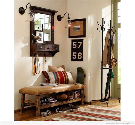 decoracion de casa vintage ideas para decorar un recibidor estilo vintage y que sea