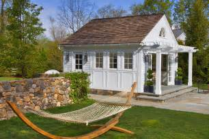 Small Pool Houses darien ct this small scale pool house is situated on a property with a