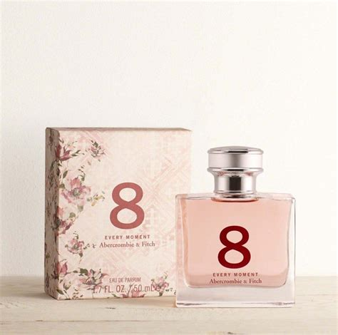 Parfum Im 8 8 every moment abercrombie fitch 2016