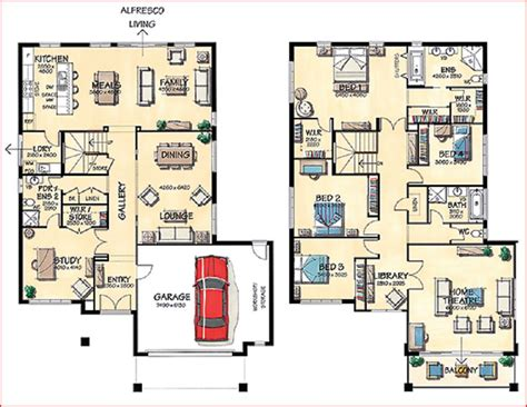 big house designs home design ideas floor plans for a