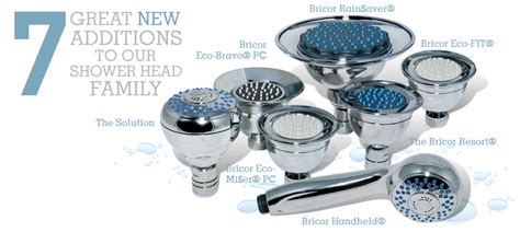 Low Flow Shower Savings by Low Flow Shower Heads Bricor Showerheads