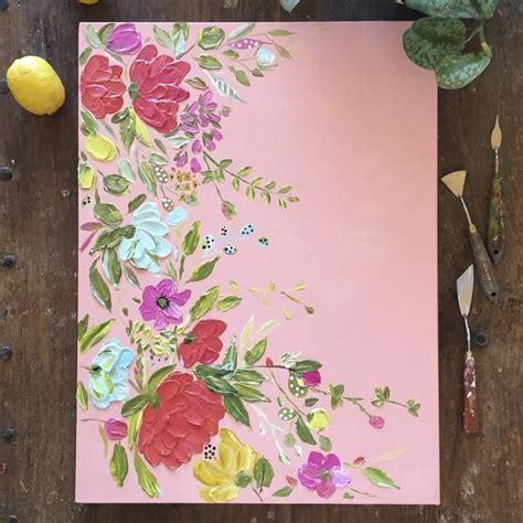 easy painting flower designs easy flower paintings druma co
