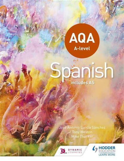 libro aqa spanish a2 grammar aqa a level spanish includes as