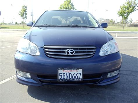 Toyota Corolla For Sale By Owner 2003 Toyota Corolla Sport For Sale By Owner In Perris Ca